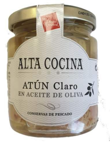 Alta cocina Light tuna loins in olive...