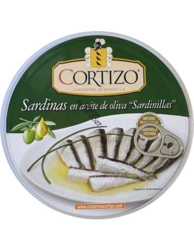 Cortizo Small Sardines in olive oil...