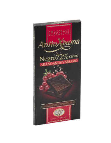 Antiu Xixona 72% dark chocolate with...