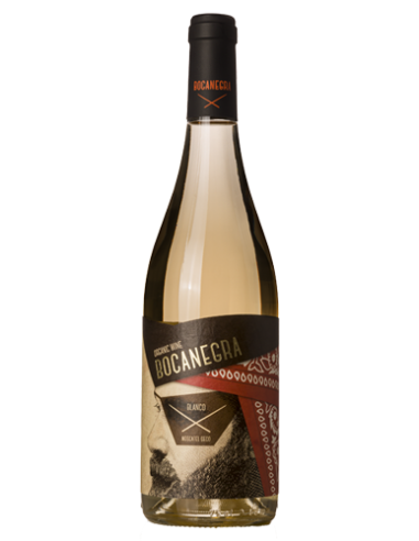 Vino blanco Bocanegra 100% moscatel...