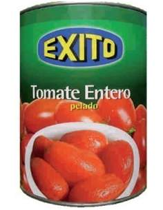 Exito tomato pear peeled tin 1 kg.