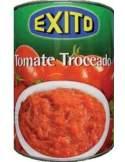 Exito tomato pear peeled tin 1/2 kg.