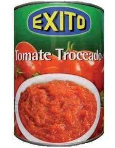 Exito chopped tomatoes tin 1/2 kg.