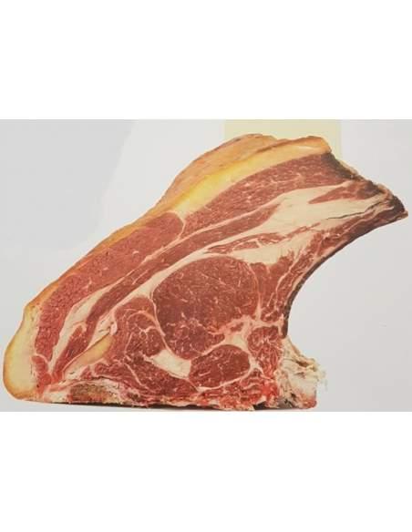 Lomo madurado de vaca Rubia Gallega de 14 a 18 kg.