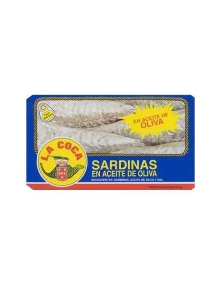 Sardinas con aceite RR-125 La Coca