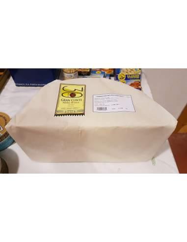 Media rueda de queso Italiano Gran Conte Nero 18 kg.
