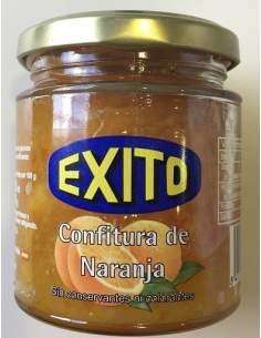 Confitura de naranja Éxito tarro de cristal 275 gr.