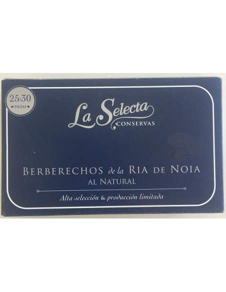 La Selecta Ria de Noia cockles 25/30 units
