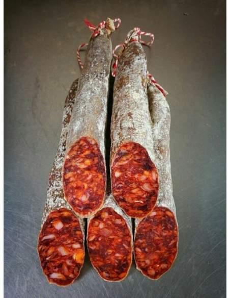 Chorizo iberico bellota cular Monteparra Guijuelo 1,2 Kg.