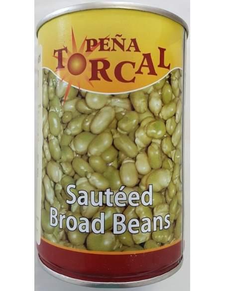 Habitas baby fritas con aceite de oliva Torcal 500 gr.