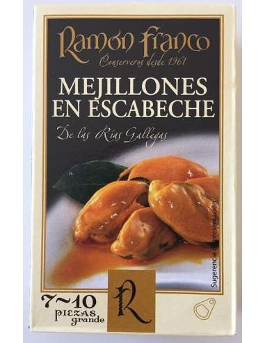 Cozze marinate Ramon Franco RO-120...