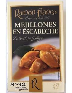 Mexilhões Marinados Ramon Franco 8/12 peças.