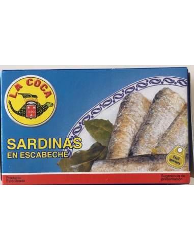 Sardinas en aceite de oliva La Coca RR-125