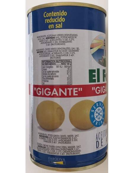 Jupema gigant filled olives 2 kg