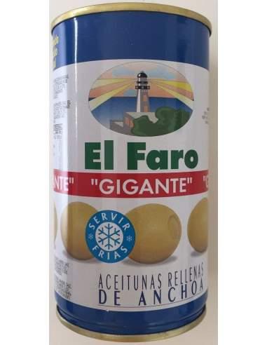 Aceitunas rellenas gigantes 150g El Faro
