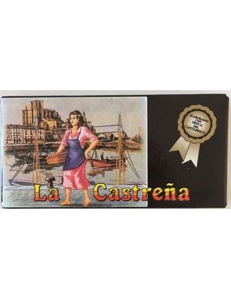 Filetes de anchoa Cantabrico La Castreña, lata RR-50.