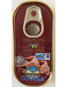 Filetes de anchovas Codesa RR-50 Gold Series