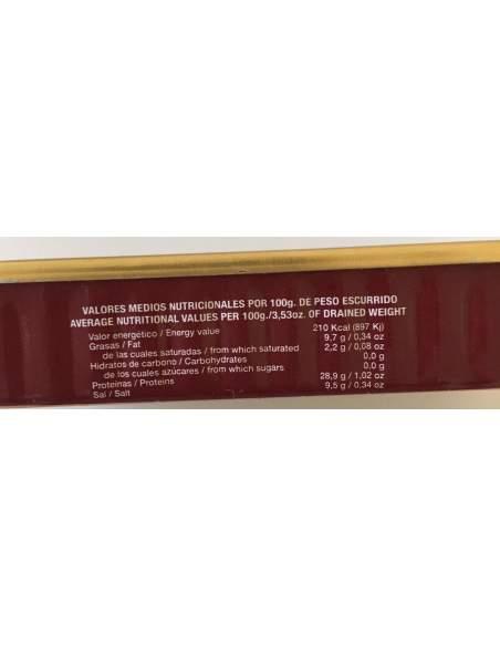 Filetes de anchoa Codesa RR-50 Serie Oro