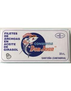 Don Juan Cantabrian anchovy fillets 50 gr.
