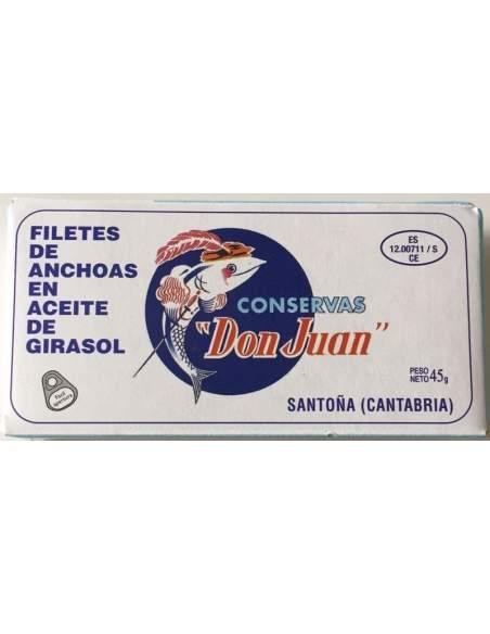 Anchoas Santoña Don Juan RO-550