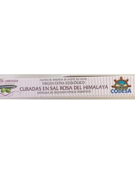 Anchoas Codesa LH-120Serie Limitada Sal rosa del Himalaya