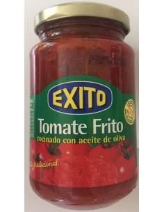 Tomate frito con aceite de oliva Exito tarro de cristal 500 g.