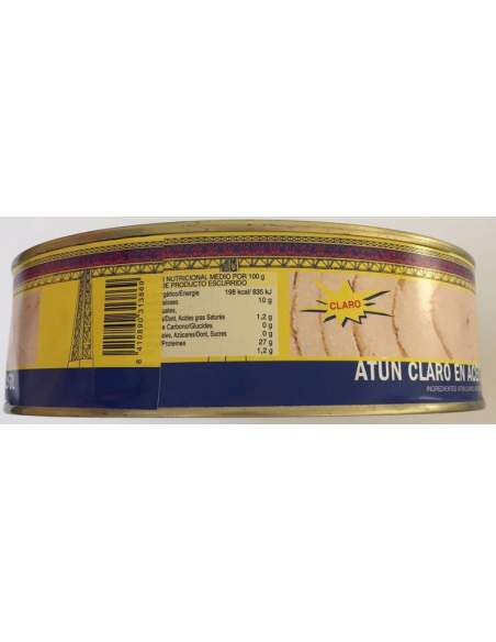 Arlequin white tuna RO-1800 in oil. Fresh packed